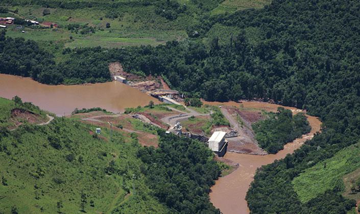 Velcan - Rodeio Bonito, a 15MW hydro power plant in Brazil