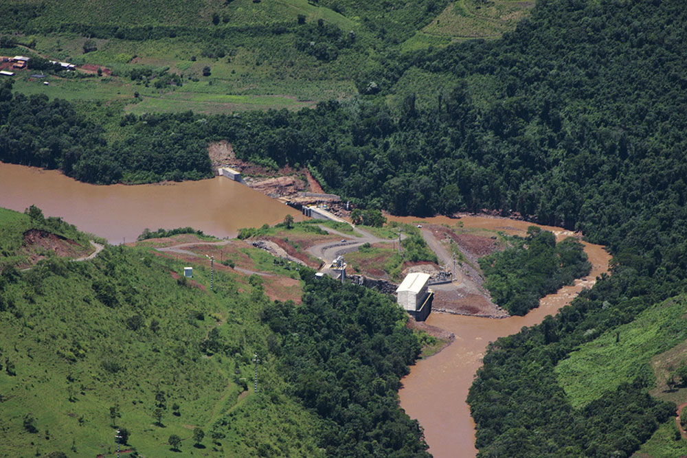 Rodeio Bonito : (December 2009) Aerial view at commissioning